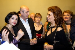 Nino Surguladze and Sophia Loren at Desire Tree