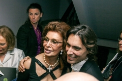 Nino Surguladze and Sophia Loren at Desire Tree