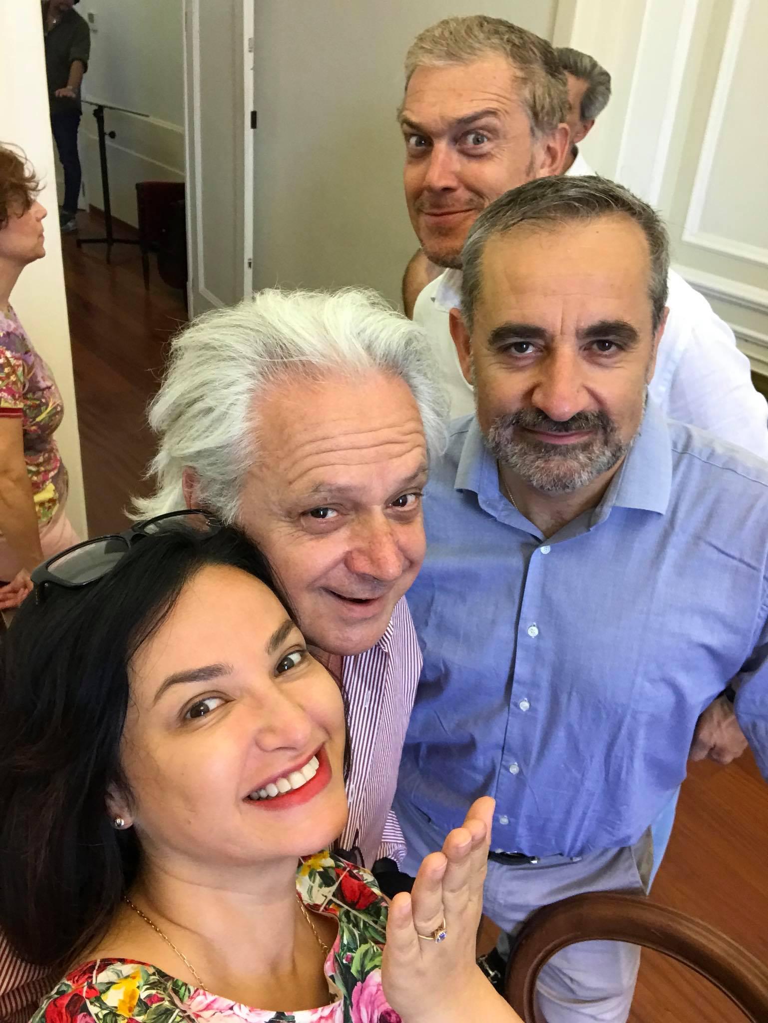 Nino Surguladze at Teatro San Carlo