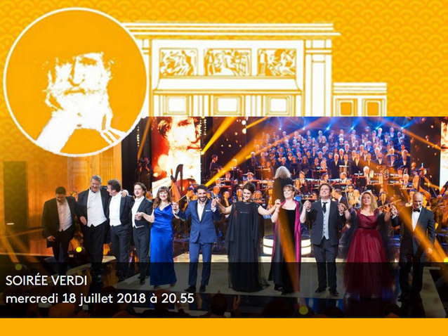 Le Concert des Etoiles 2018 : hommage à Verdi