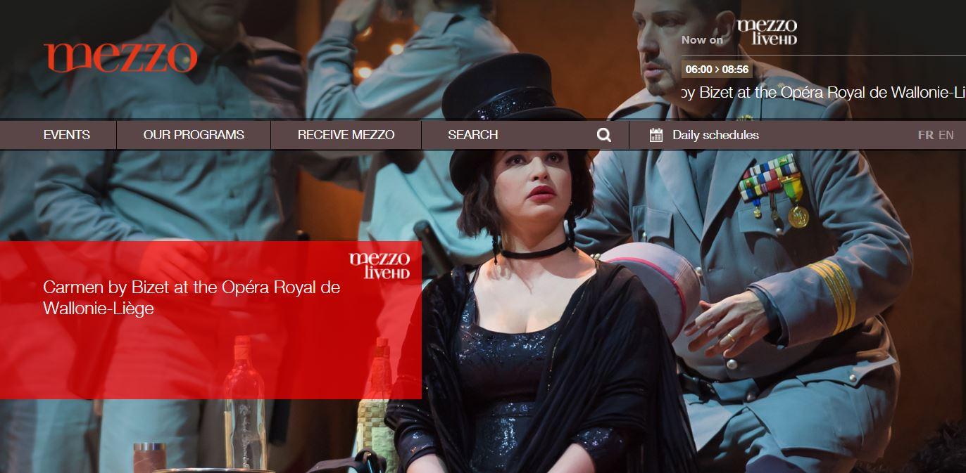 Opéra Royal de Wallonie-Liège - mezzo.tv
