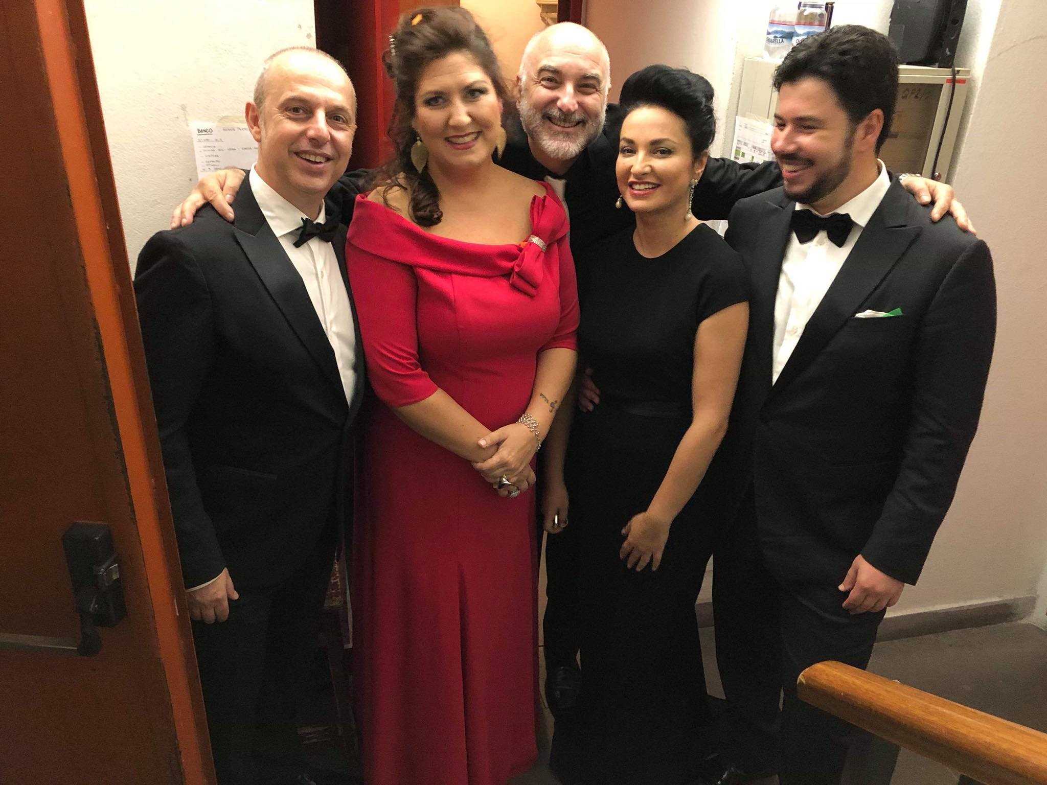 Nino Surguladze at Verdi Festival with Anna Pirozzi