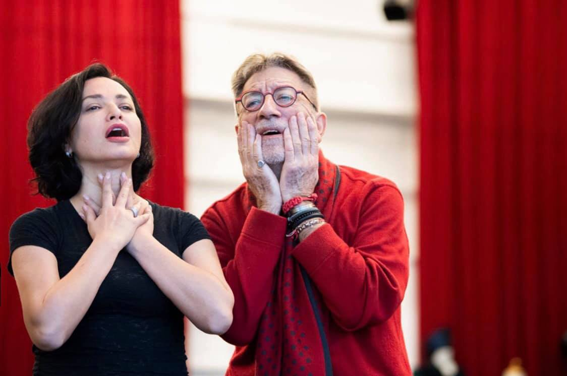 Nino Surguladze in Lieges as Amneris